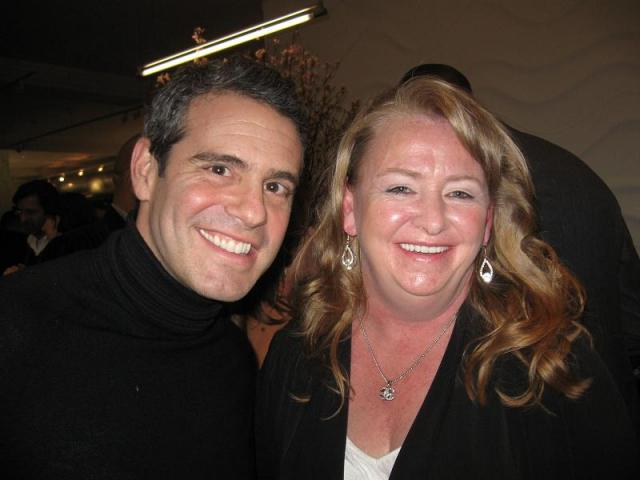 lynn hudson and andy cohen