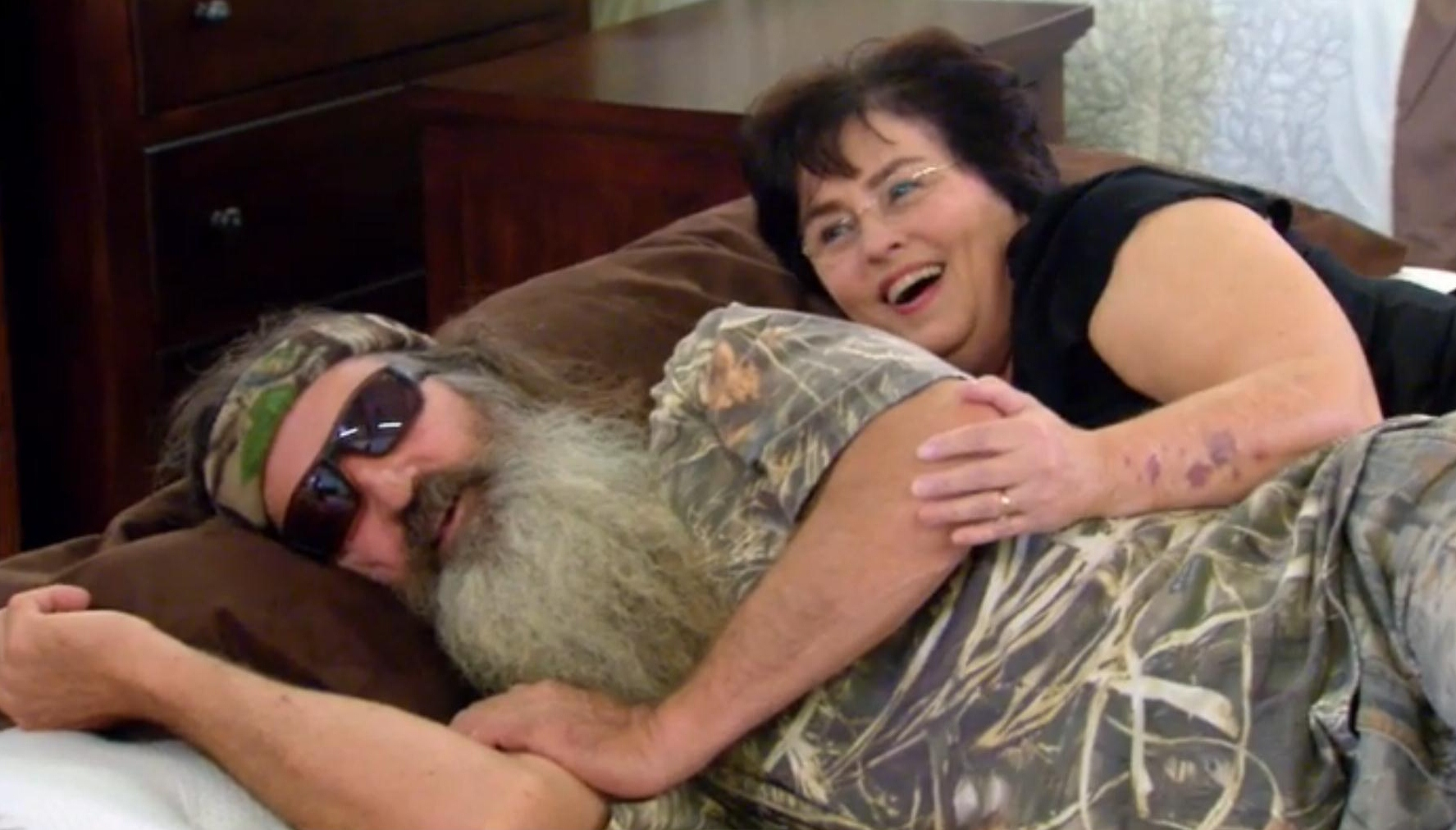 Phil and Miss Kay Robertson Duck Dynasty Young