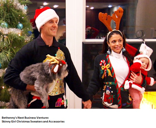 Bethenny's Christmas Sweaters