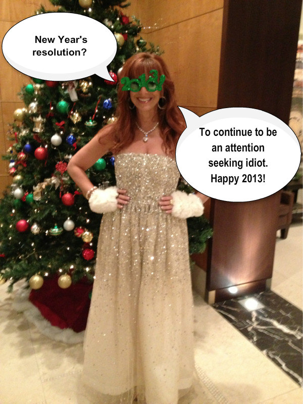 boston - jill zarin new year's resolution