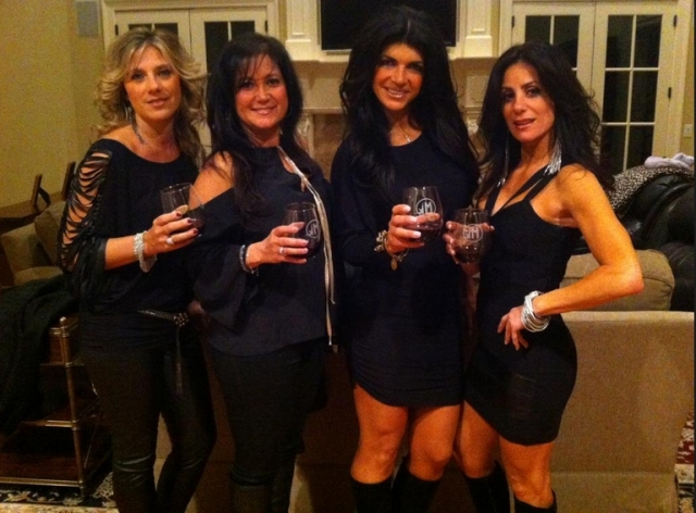 teresa giudice and friends