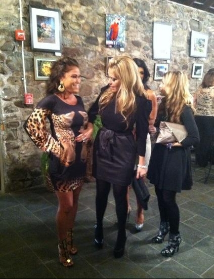 Jennifer Dalton tweet: this is when I was like 3 months pregnant at fabellini launch before PIH baby shower.