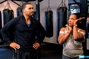 Apollo and Phaedra work on some moves ( (S5 Episode 11 Bravo Photo Gallery)