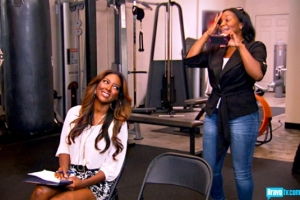 Kenya isn't really sure if this is going to work  (S5 Episode 11 Bravo Photo Gallery)