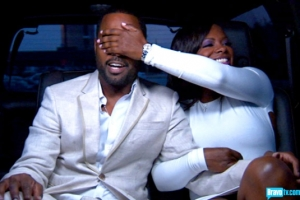 Kandi and Todd in the Helicopter on the way to his party  (S5 Episode 11 Bravo Photo Gallery)