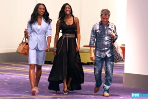 Cynthia, Porshe and Ty talk pageants (photo from bravotv.com)