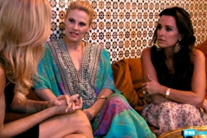 Brandi Glanville tells Marisa and Kyle she's being sued by Adrienne and Paul (from Bravo's photo gallery)