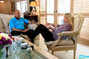 Kim Richards and her life coach (from Bravo's photo gallery)