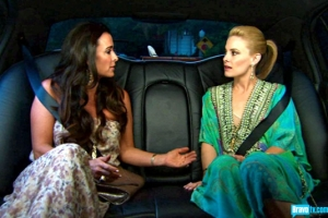 Marisa Zanuck and Kyle Richards on their way to the party (from Bravo's photo gallery)