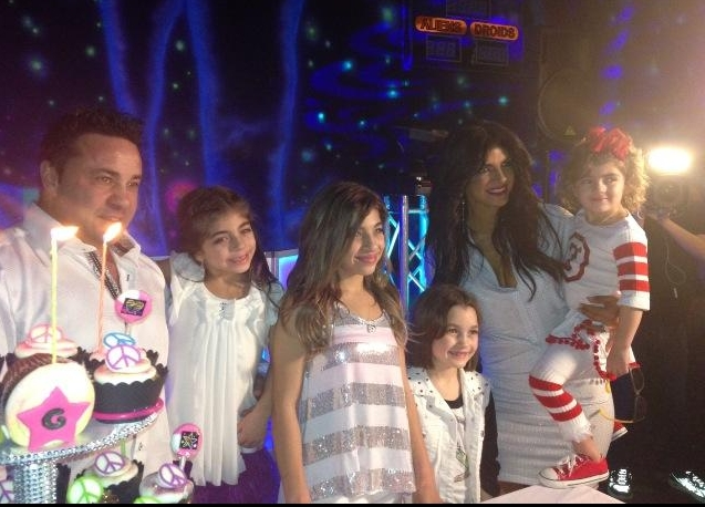 Giudice Family celebrating Gia's 12th Birthday (Elvira's twitter feed).