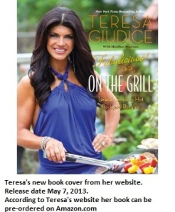 Teresa Cookbook Cover