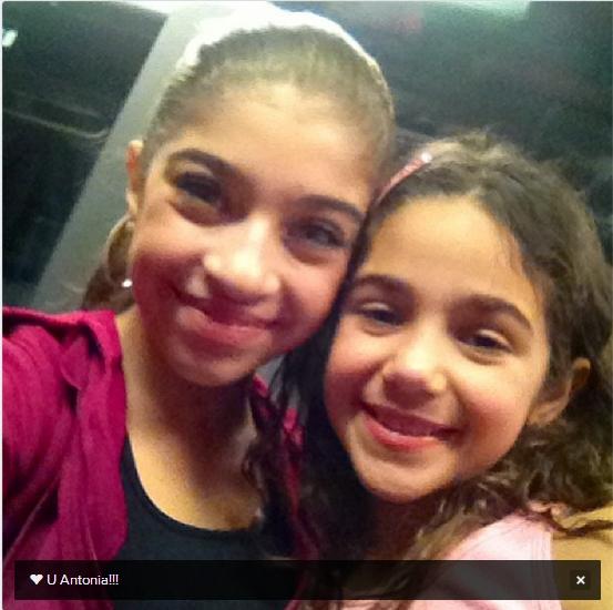 Gia and Antonia (Gia's twitter feed)