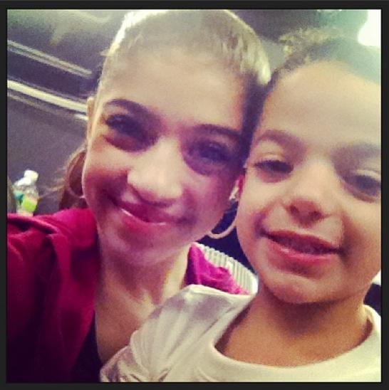 Gia and Gino (Gia's twitter feed)