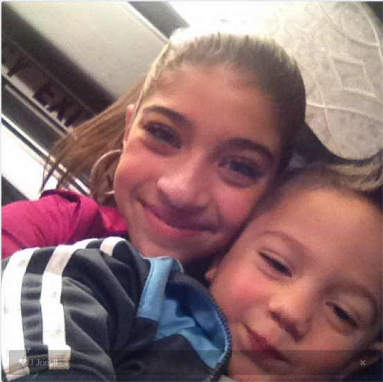 Gia and Joey (Gia's twitter feed)