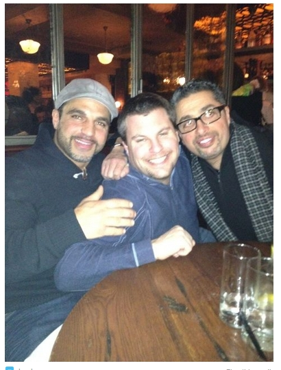 Joey Gorga and Richie Wakile (from Joey Gorga's twitter)