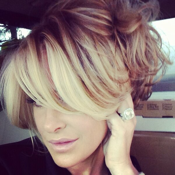 Kim Zolciak Natural Hair (from Kim's Twitter Account)