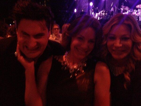 LuAnn de Lesseps, Rob Schuter and  Taylor Dane (from LuAnn's twitter account)