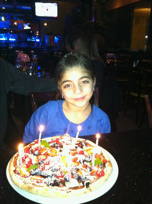 Milania Giudice's 7th Birthday (from Teresa Giudice's twitter feed)