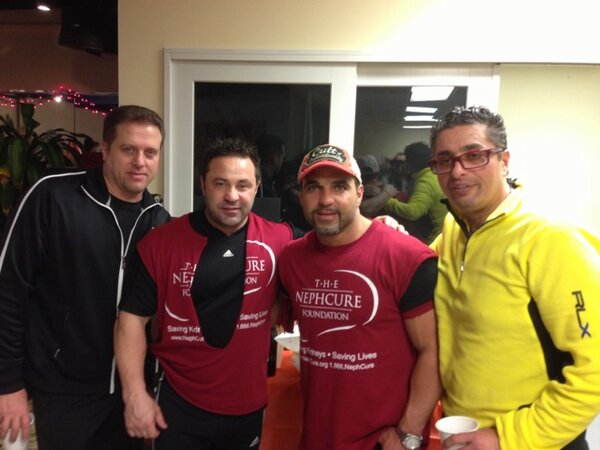 Chris Laurita, Joe Giudice, Joey Gorga and Richie Wakile (Richie's twitter feed)
