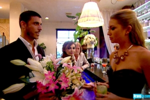 Please accept these flowers while I tell you that I cheated on you, had unprotected sex with strangers, and then lied about it and demonized everyone that tried to tell you the truth.  Can we still date?  (from bravotv.com)