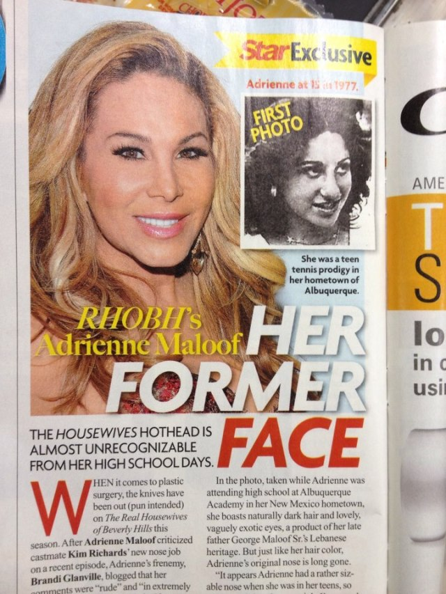 star magazine article on Adrienne Maloof (photo from Zuzy)