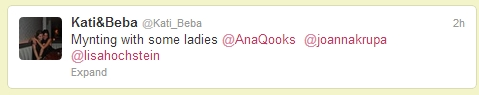 ana daughter tweet