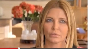 This is Ronnie trying to look surprised - it's hard with all that botox.