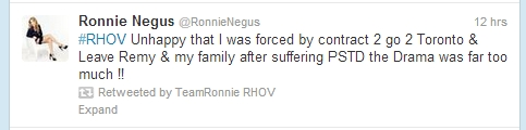 ronnie tweet