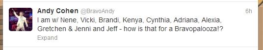 andy tweet