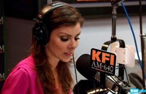 Heather on KFI -
