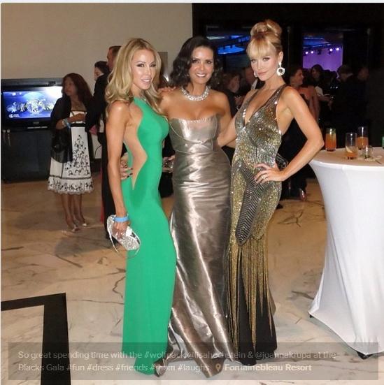 Lisa Hochstein, Karent Sierra and Joanna Krupa (Karent's twitter)