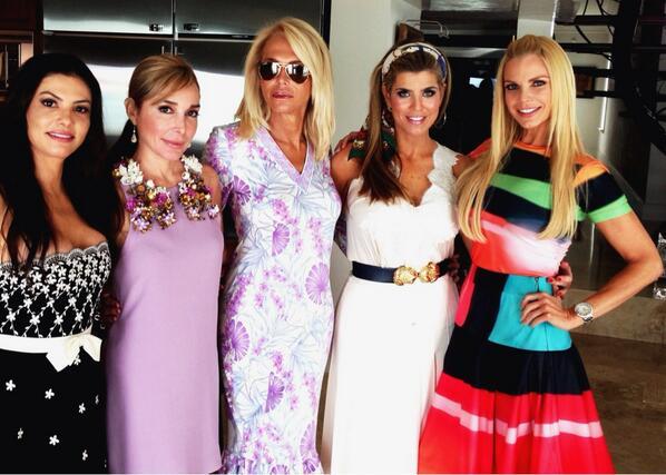 Adriana, Marysol, Lauren Foster, Ana Quincoces, and Alexia (Lauren's twitter)