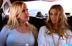 o8Vicki and Lydia in Car