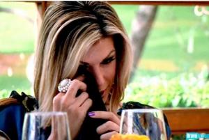 Alexis tears up