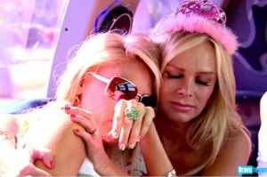 Tamra consoling Gretchen