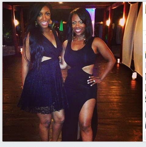 Kandi and Porsha - Photo credit Kandi.
