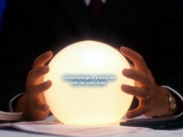 boston - carlton crystal ball
