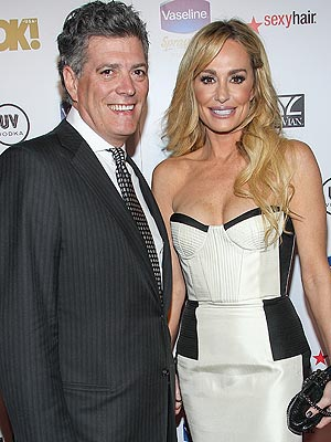 John Bluher and Taylor Armstrong PAUL A. HEBERT/GETTY