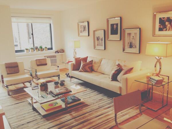 Gigi's apartment (from Yolanda's twitter account)