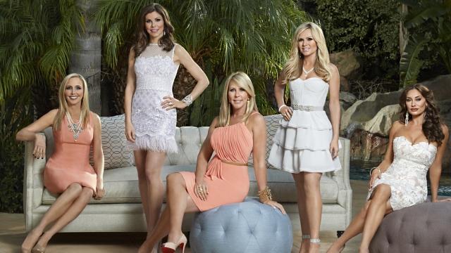 Shannon Beador, Heather Dubrow, Vicki Gunvalson, Tamra Judge & Lizzie Rovsek