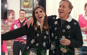 Heather T ugly sweater2