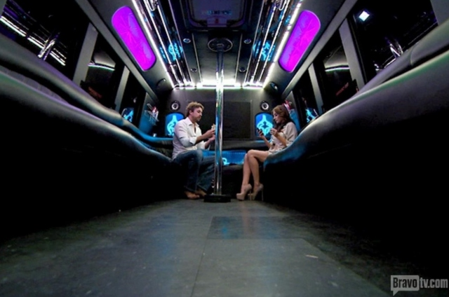 Empty fun bus