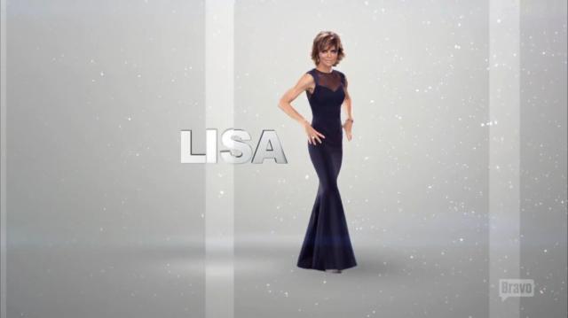 Lisa Rinna Opening