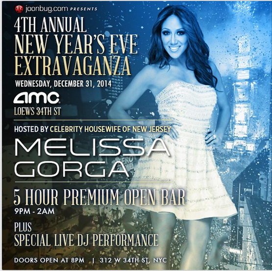 melissa gorga new year