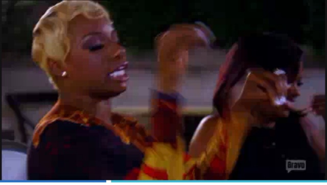 NeNe showing she's a puppet master