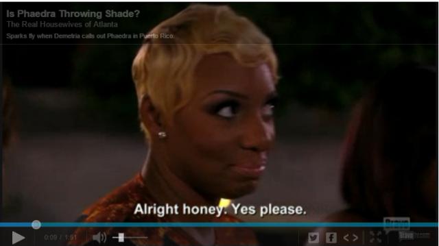 5- NeNe reacts to Shaedra