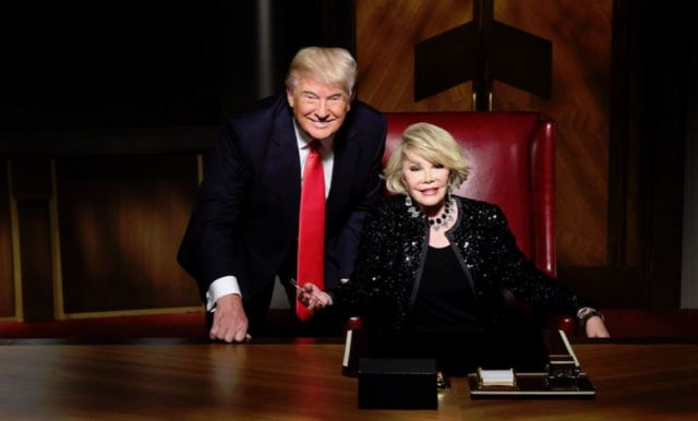 Joan and Trump
