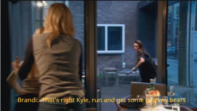 23 - Kyle runs out