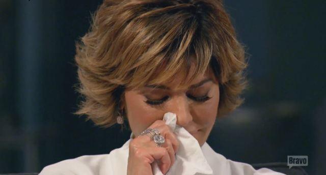 Lisa R tears