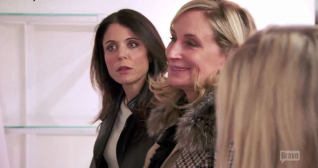 Bethenny incredulous